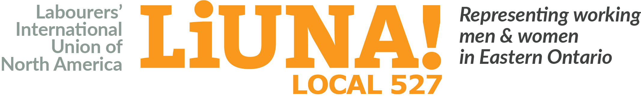 LiUNA Local 527 Logo